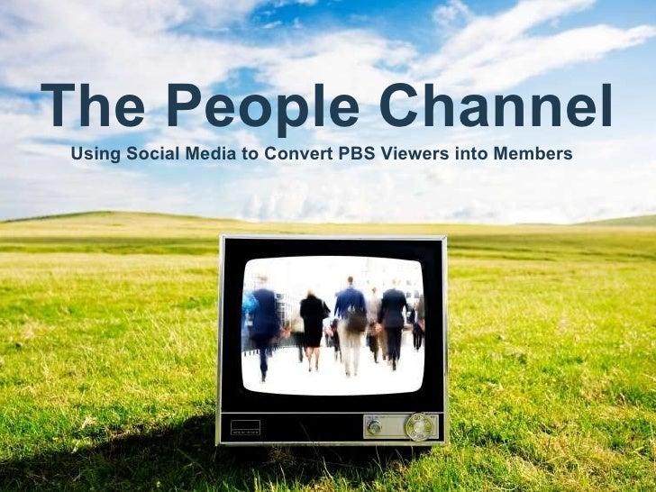Title subtitle Date Presenter's Name Presentation Title or Product Name The People Channel Using Social Media to Convert P...