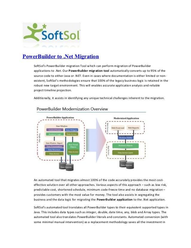 PowerBuilder to .NET Migration
