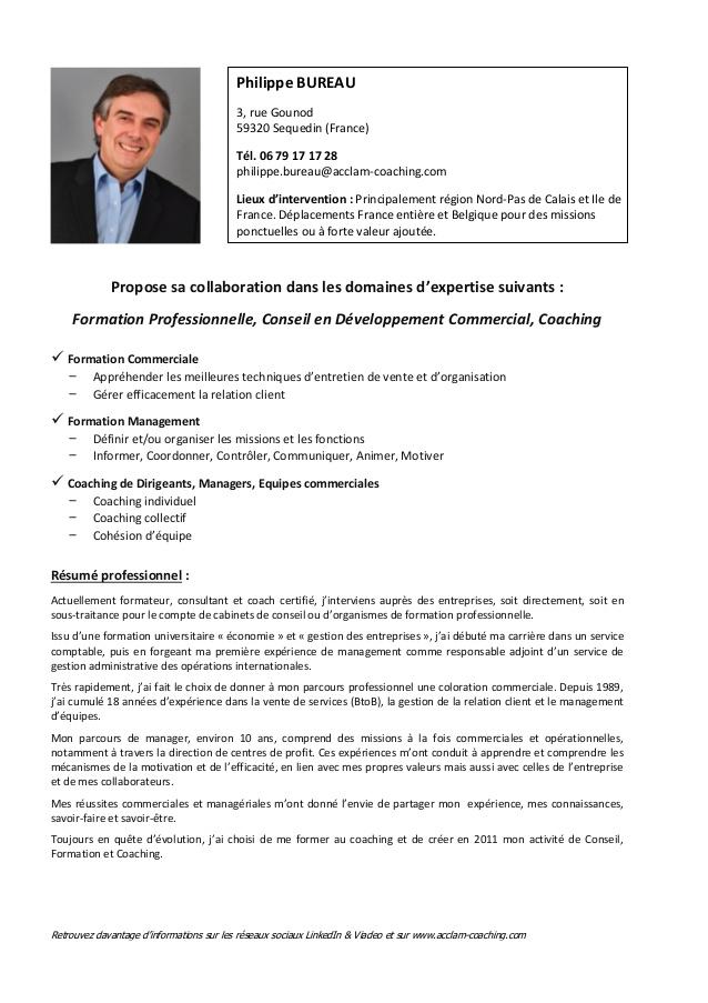philippe bureau - formateur - consultant