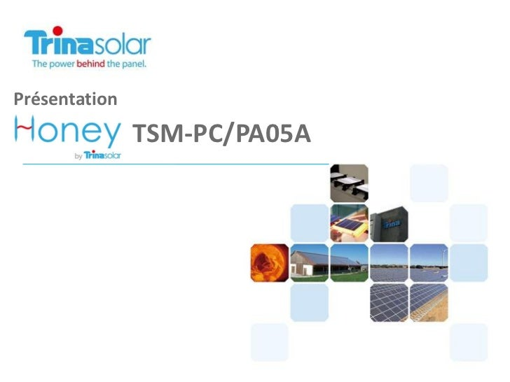 Présentation               TSM-PC/PA05A