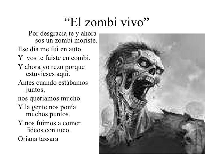 poemas de zombies
