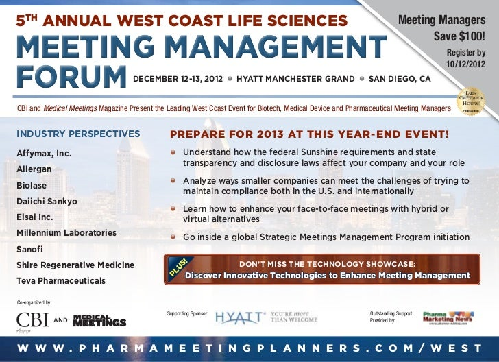 5th Annual West Coast Life Sciences                                                                                      M...