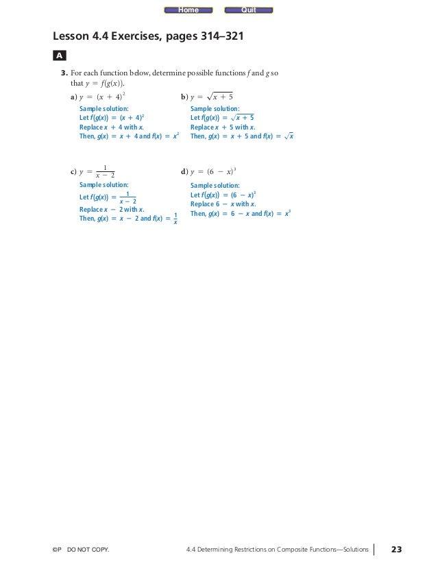05_ch04b_pre-calculas12_wncp_solution.qxd     5/18/12     7:03 PM   Page 23                                               ...