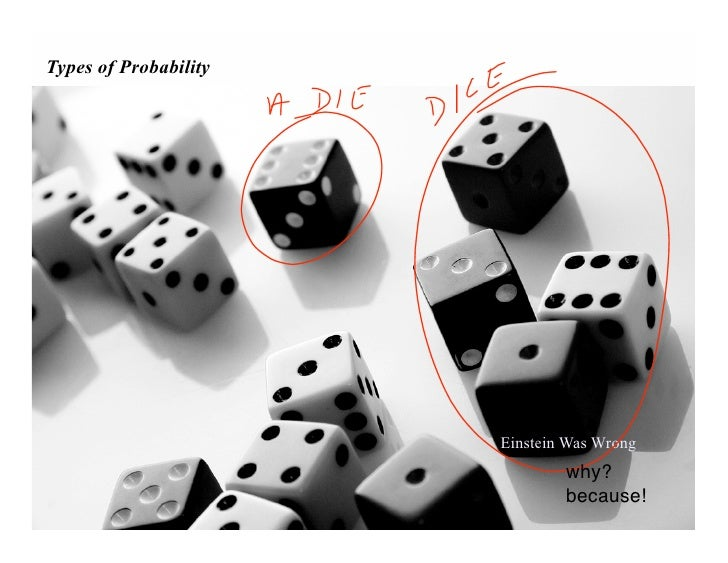 Types of Probability                            Einstein Was Wrong                                why?                    ...