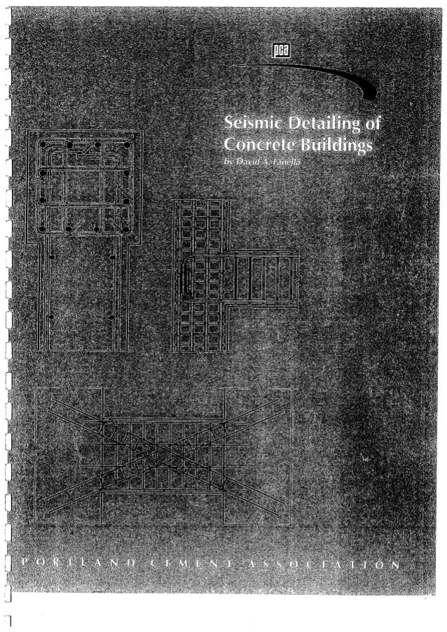 Pca seismic detailing