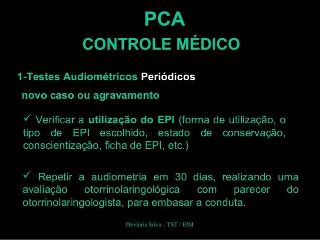 Exame pca