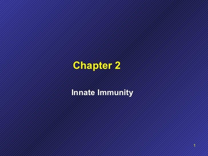 Chapter 2 Innate Immunity