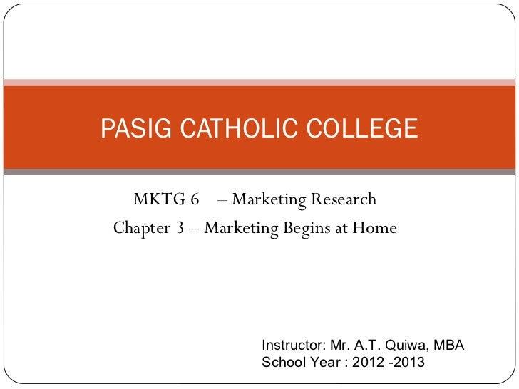 Pcc mktg 6 chapter 3