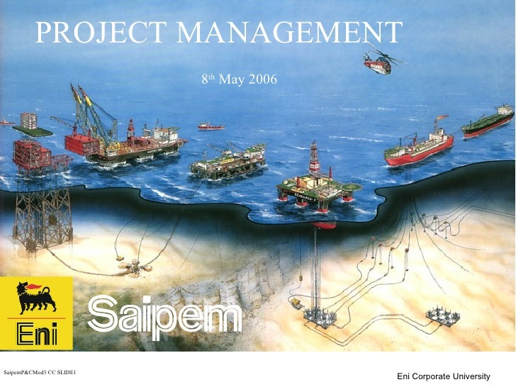 PROJECT MANAGEMENT 8 th  May 2006