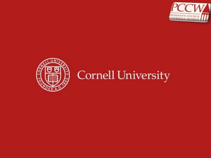 President's Council of Cornell Women (PCCW) Annual Meeting 2012: The Tide of Women Changing Politics and Media