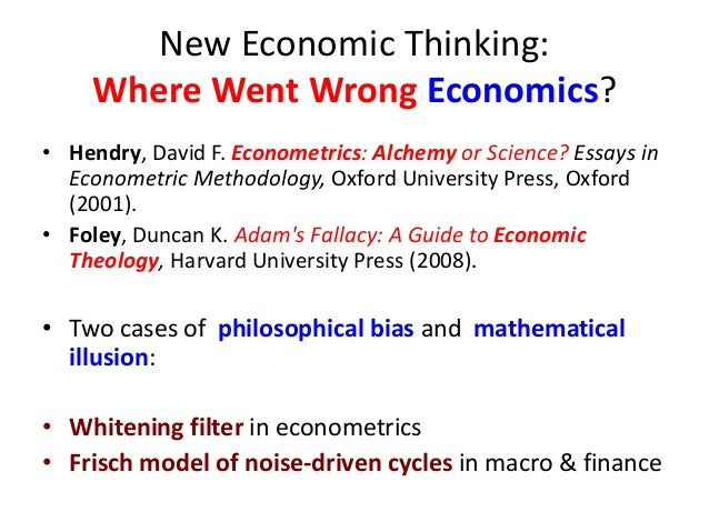 faulty economics essay How the inflation gauge is faulty in the past in the us check the category for all economics essay samples or review the database of free essay examples.
