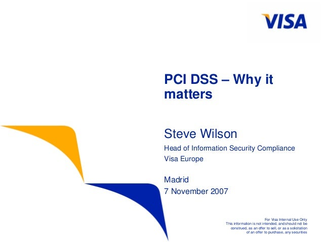 PCI DSS: Why it matters