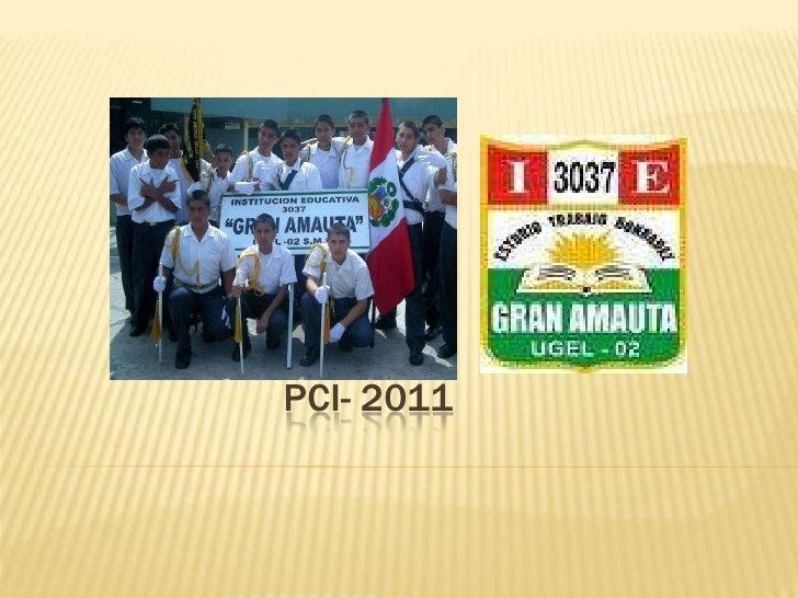 PCI- 2011