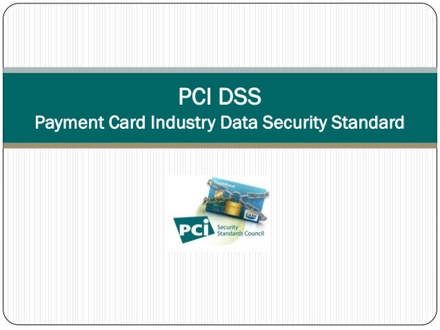 payment card industry data security standard pdf
