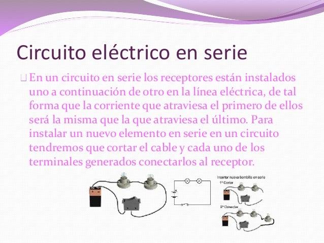 Circuito Electrico En Serie : Circuito electricos