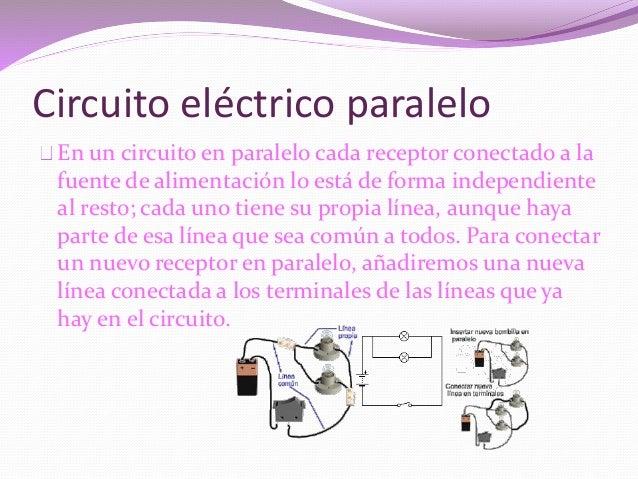 Circuito Electrico En Paralelo : Circuito electricos