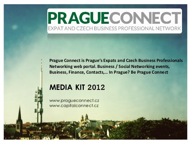 Prague Connect is Prague's Expats and Czech Business ProfessionalsNetworking web portal. Business / Social Networking even...