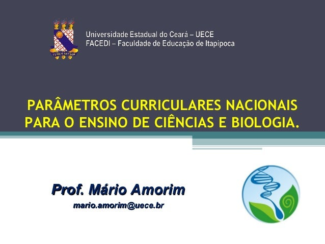 PCN de Ciencias Naturais e Biologia