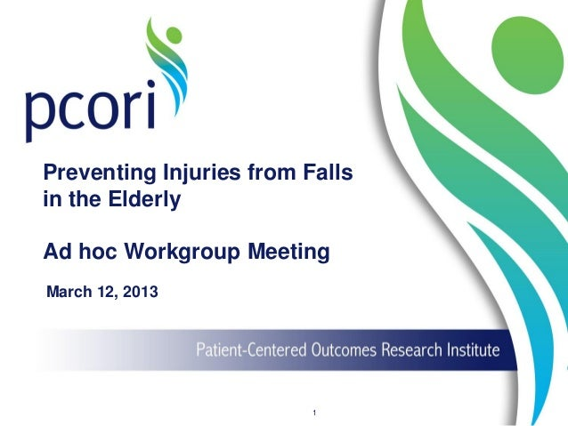 Preventing Injuries from Falls in the Elderly
