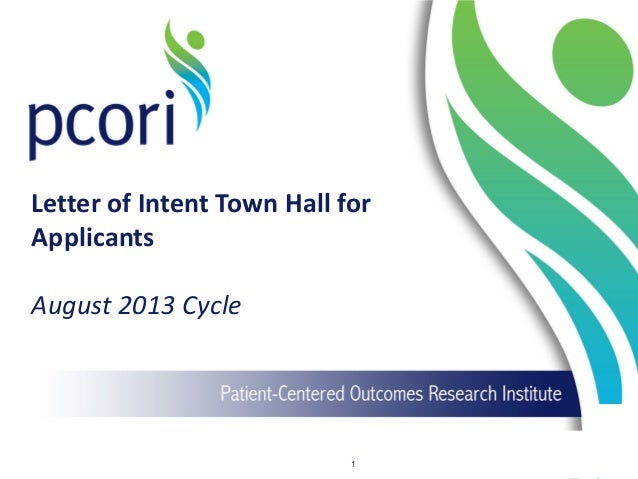 PFA Applicant Town Hall Improving Methods for Conducting Patient-Centered Outcomes Research