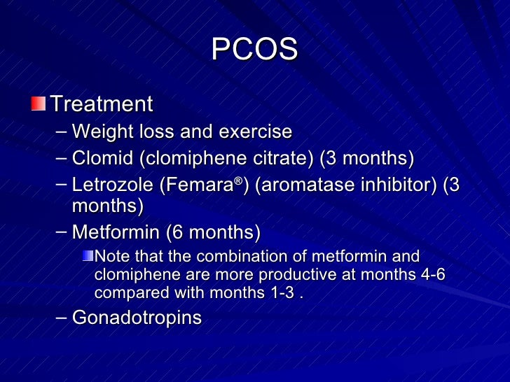 clomiphene citrate metformin pcos pregnancy