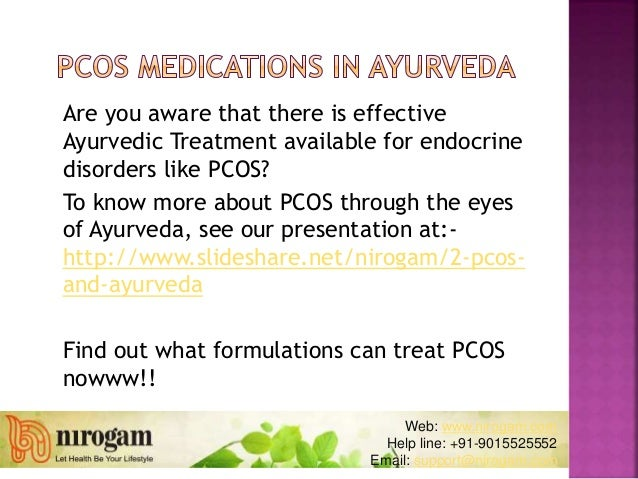Are you aware that there is effective Ayurvedic Treatment available for endocrine disorders like PCOS? To know more about ...