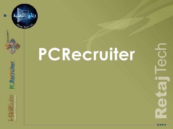PCRecruiter<br />