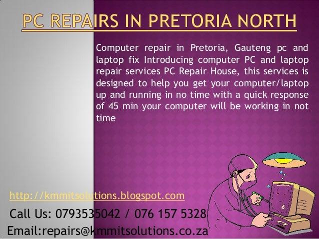 Computer repair in Pretoria, Gauteng pc and                laptop fix Introducing computer PC and laptop                re...