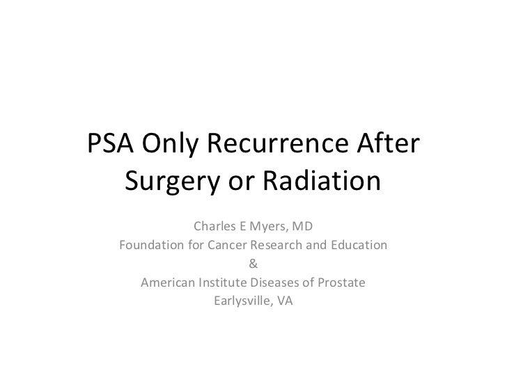 DrMyers PSA Relapse (Indigo)