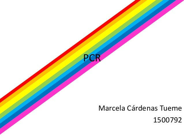 PCR  Marcela Cárdenas Tueme                 1500792