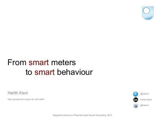 From smart meters to smart behaviour
