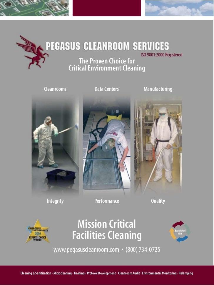 Pegasus Cleanroom Services Brochure
