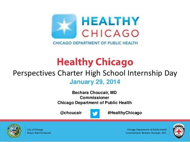 Perspectives Charter High School Internship Day
