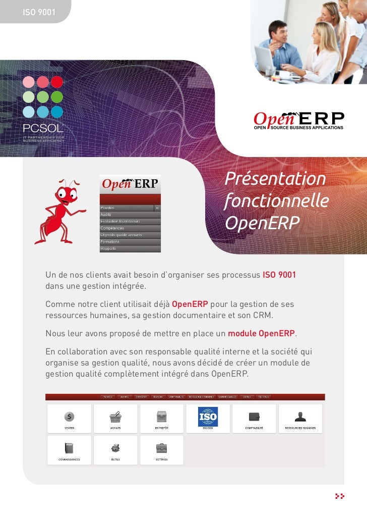 ISO 9001                                                    Présentation                                                  ...