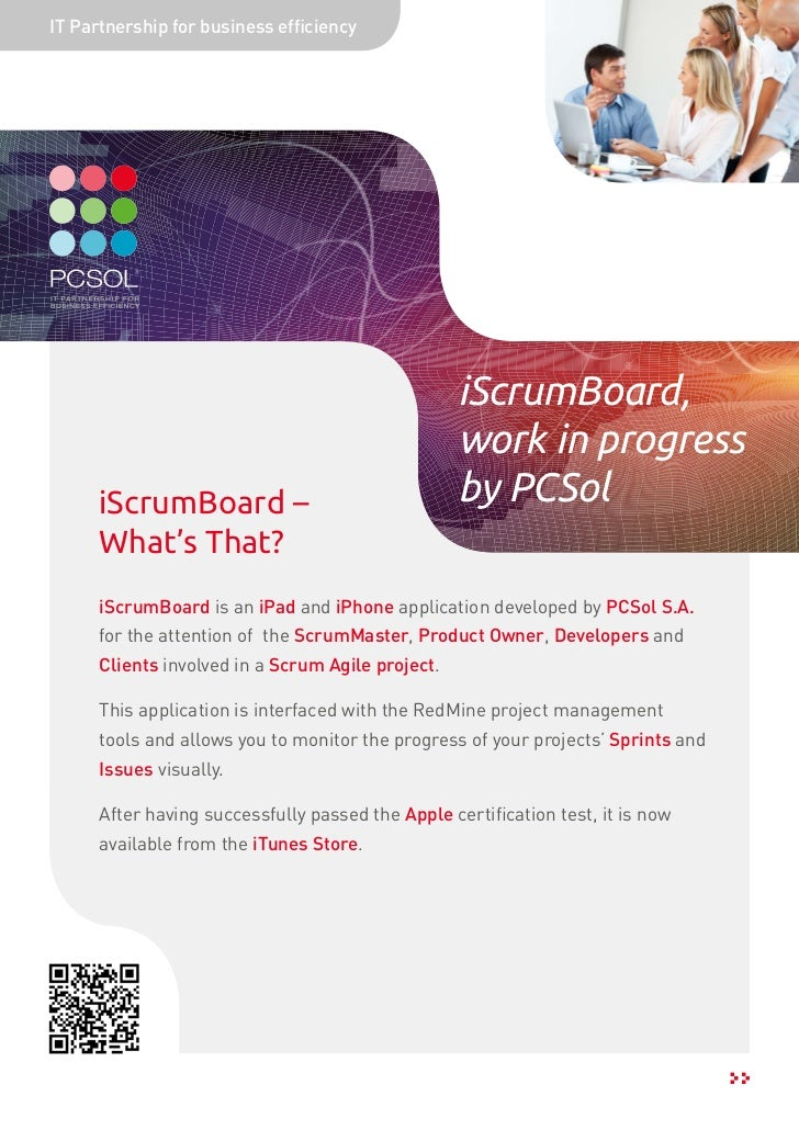 IT Partnership for business efficiency                                                   iScrumBoard,                     ...
