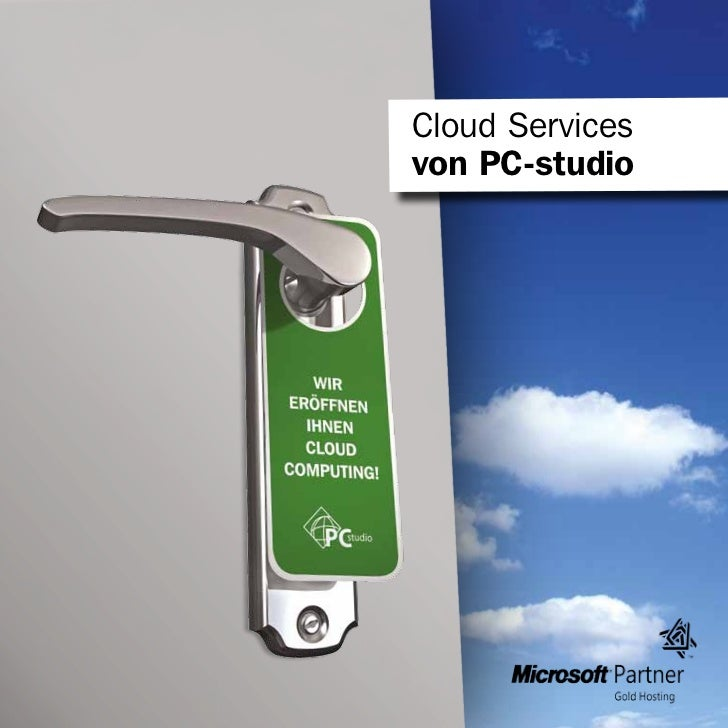 Cloud Servicesvon PC-studio