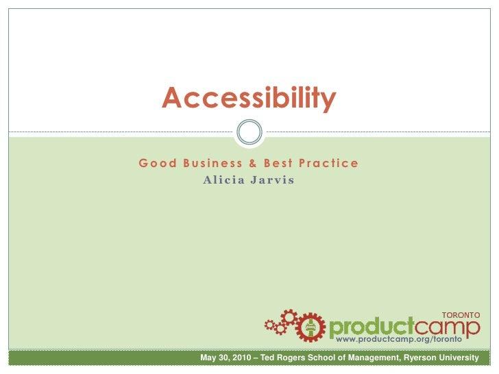 PCT2010 5 min Accessibility