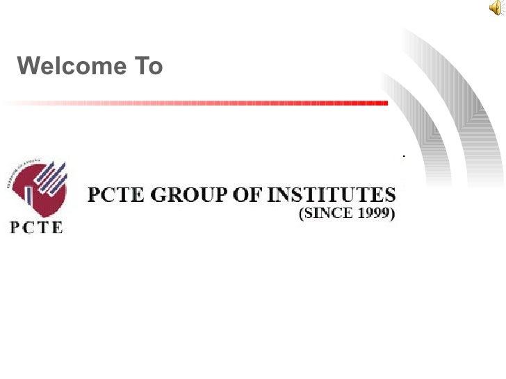 PCTE Slide Show