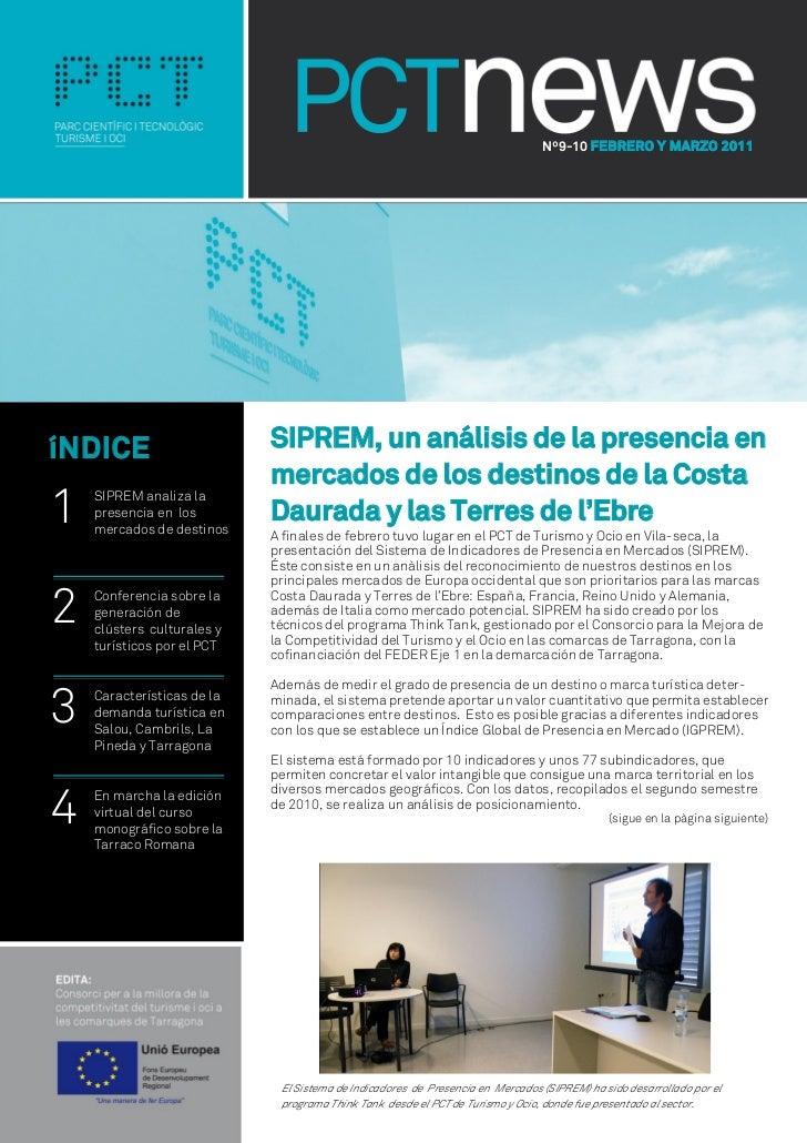 Nº9-10 FEBRERO Y MARZO 2011íNDICE                      SIPREM, un análisis de la presencia en                            m...