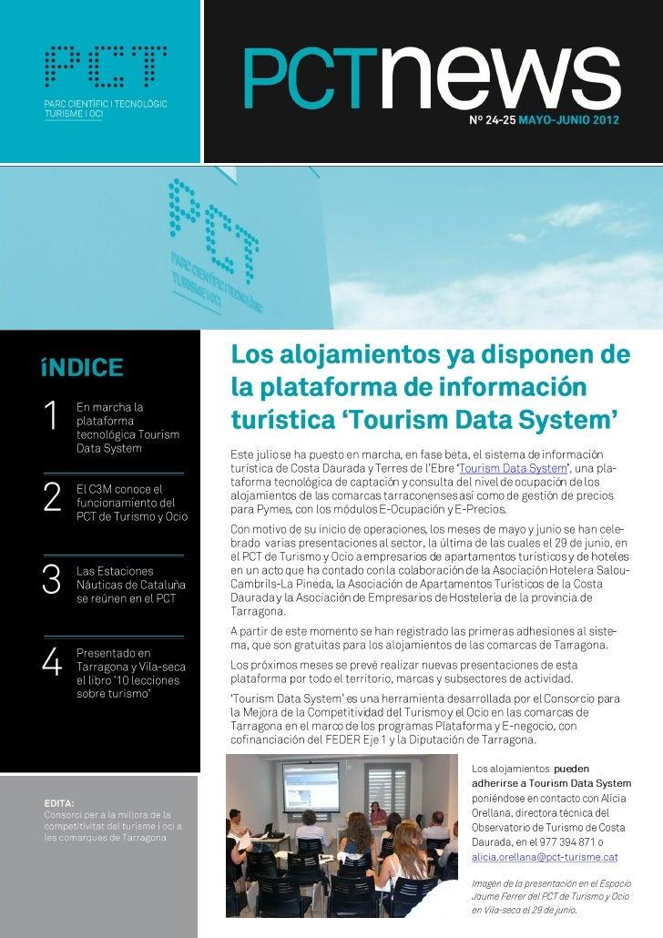 El boletín del PCT de Turismo y Ocio de mayo y junio de 2012 - PCTnews