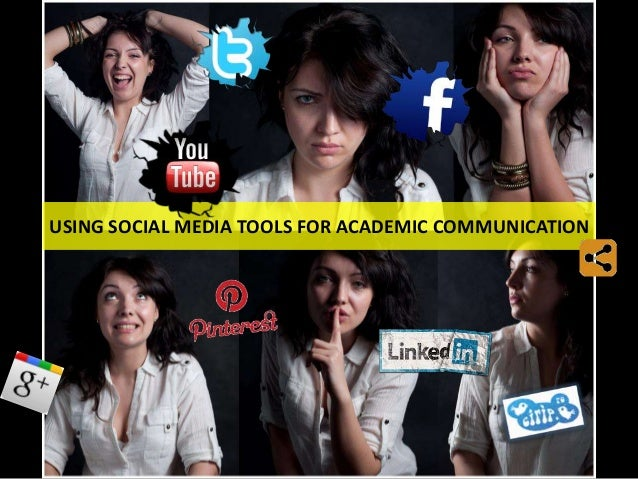 Using social media tools for academic communication