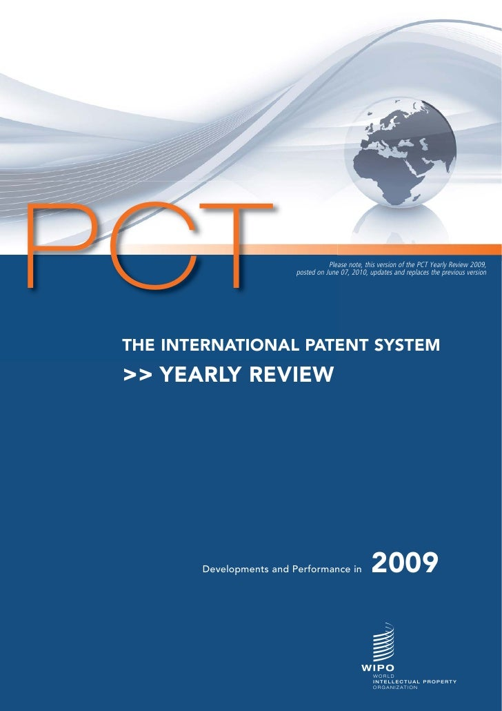 PCT                                  Please note, this version of the PCT Yearly Review 2009,                           po...