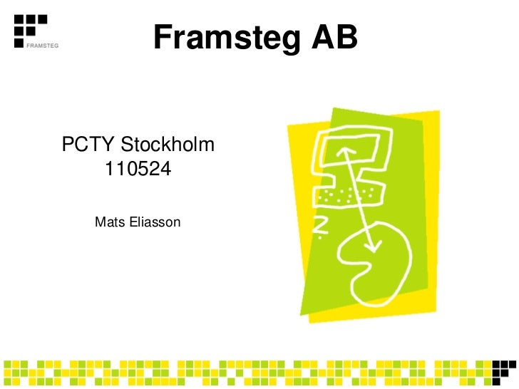 Framsteg ABPCTY Stockholm   110524   Mats Eliasson