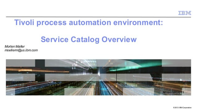 Pcty 2013 service catalog   overview