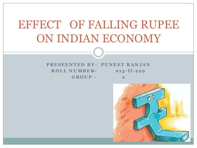 Effect of Falling Rupee on Indian Economy