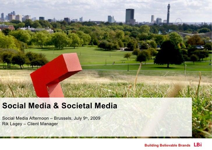 Social Media & Societal Media
