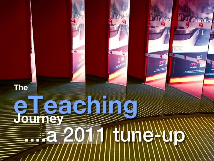 TheeTeachingJourney  ....a 2011 tune-up