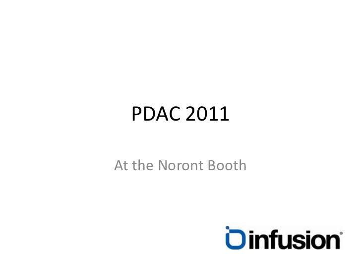 PDAC 2011