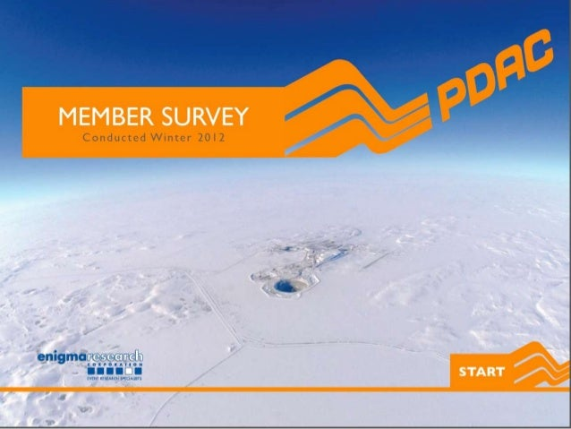 Pdac member survey 2012   top line