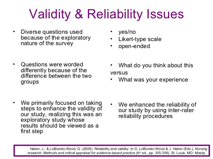 validity and reliability of the likert scale psychology essay A brief introduction to reliability, validity, and scaling american journal of psychology, 15 a brief introduction to reliability and validity.